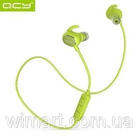 Навушники Bluetooth з мікрофоном QCY QY19. Салатовий