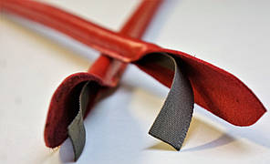 Ручка для сумки красная, 50 см., фото 2