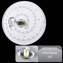 Світильник світлодіодний Biom SMART DEL-R04-42 4500K 42Вт без д/к, фото 2