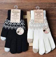 Перчатки для сенсорных телефонов TouchGloves, разные цвета, фото 1