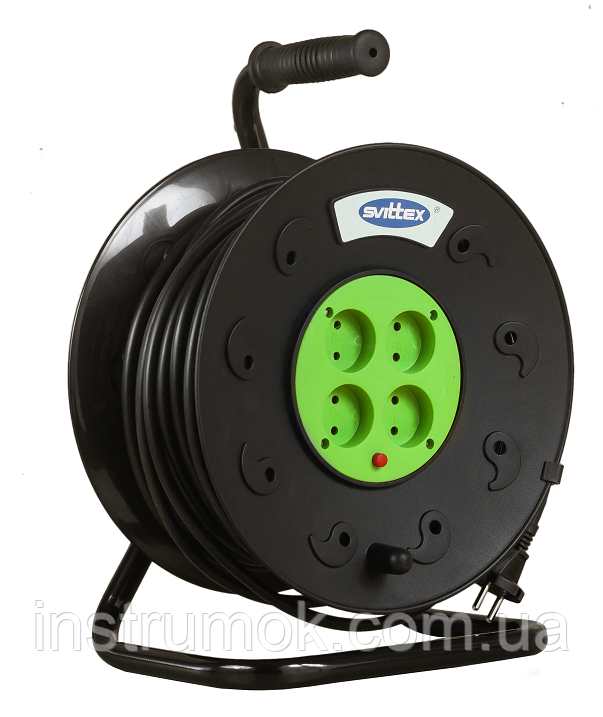 Удлинитель на катушке SVITTEX 40 м 2х2,5 мм