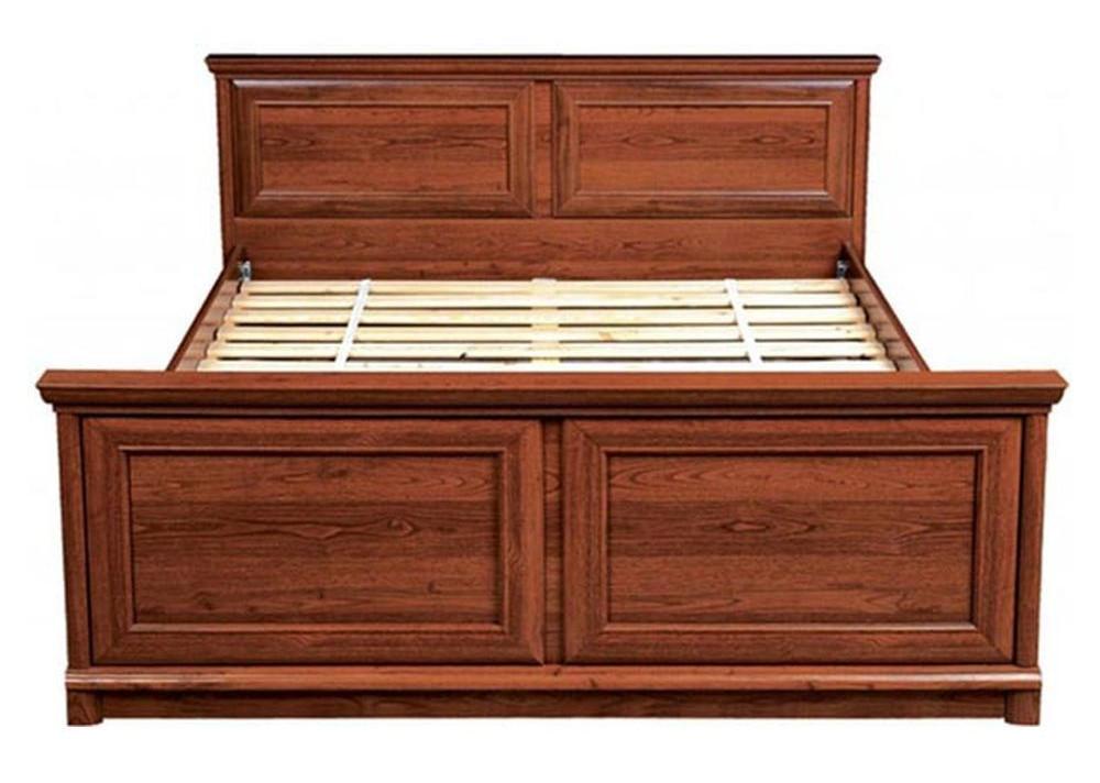 Кровать двуспальная Соната 160 (каркас) каштан