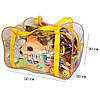 Сумка в пологовий будинок/для іграшок ORGANIZE (жовтий), фото 2
