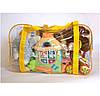 Сумка в пологовий будинок/для іграшок ORGANIZE (жовтий), фото 5