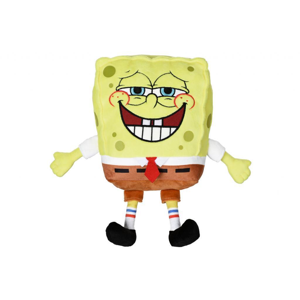 Мягкая игрушка Sponge Bob Exsqueeze Me Plush SpongeBob Fart со звуком (EU690902)