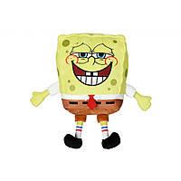 Мягкая игрушка Sponge Bob Exsqueeze Me Plush SpongeBob Fart со звуком (EU690902), фото 1