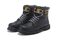 Оригинальные Мужские кожаные зимние ботинки CAT Caterpillar. 41-44,5