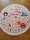 """Безкоштовна доставка! Ігровий килим-мішок """"Рожевий лабіринт"""", фото 5"""