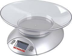 Весы кухонные VITALEX VT-300 Серебряный