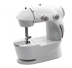Швейная машинка Mini Sewing Machine 4 in 1 с педалью Белый (hub_np2_0985)