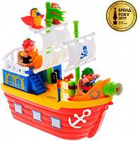 Игровой набор - Пиратский корабль, Kiddieland