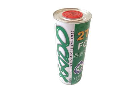 Масло 2T, 1л (синтетика, Atomic OIL 2T FC) ХАДО, фото 2