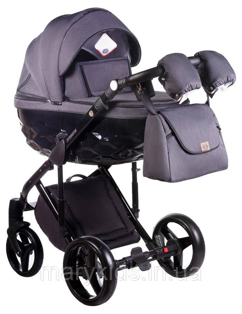 Детская универсальная коляска 2 в 1 Adamex Chantal C202