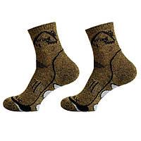 Трекинговые термоноски Coolmax Wind Tour (носки). Трекінгові шкарпетки. коричневый