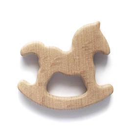 Бук грызунок Лошадка (деревянные), прорезыватель для зубов