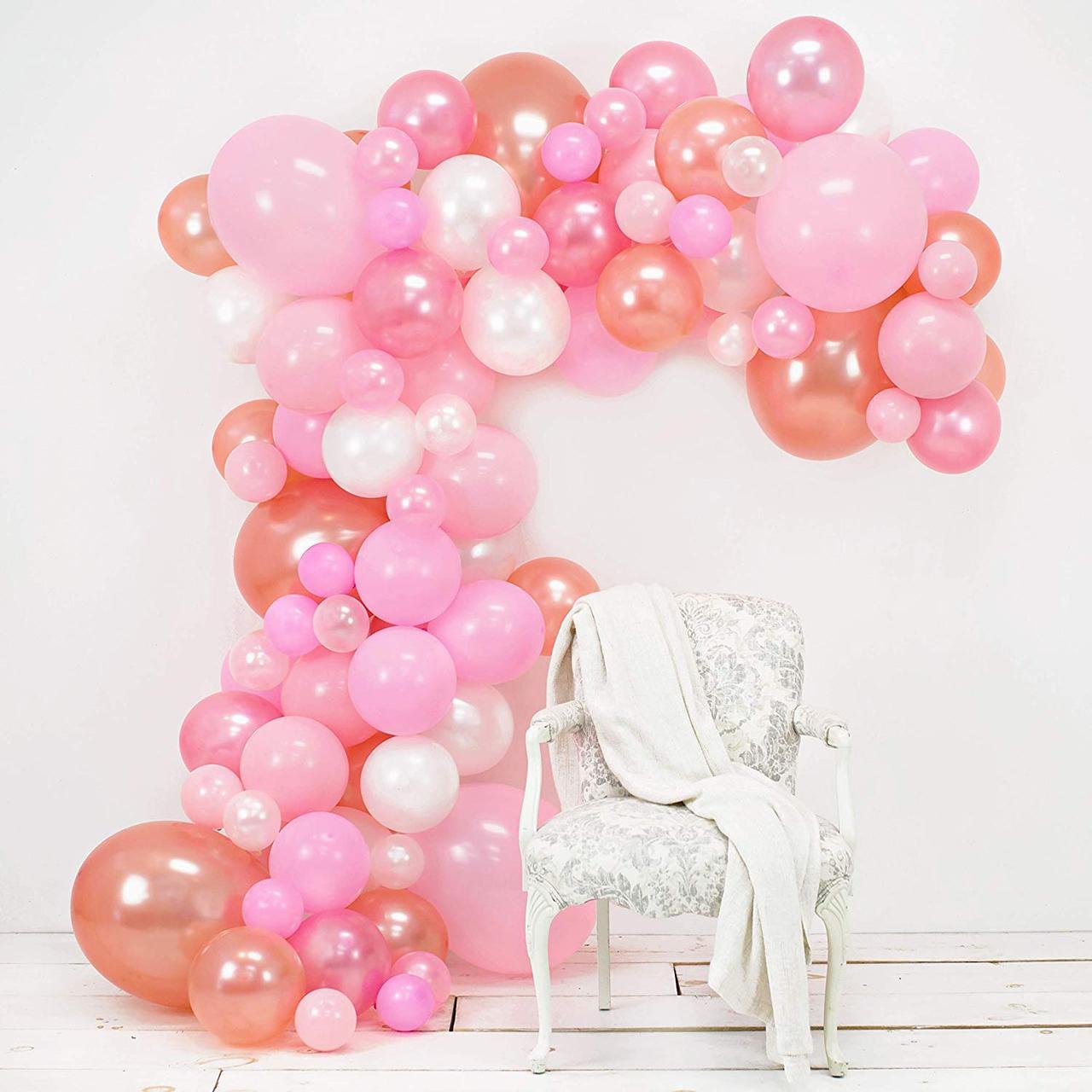 Набор воздушных шаров в виде арки / фотозона для праздников: свадьба, день рождение, вечеринка, юбилей