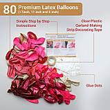 Набор воздушных шаров в виде арки / фотозона для праздников: свадьба, день рождение, вечеринка, юбилей, фото 5