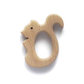 Бук грызунок Белка (деревянные), прорезыватель для зубов