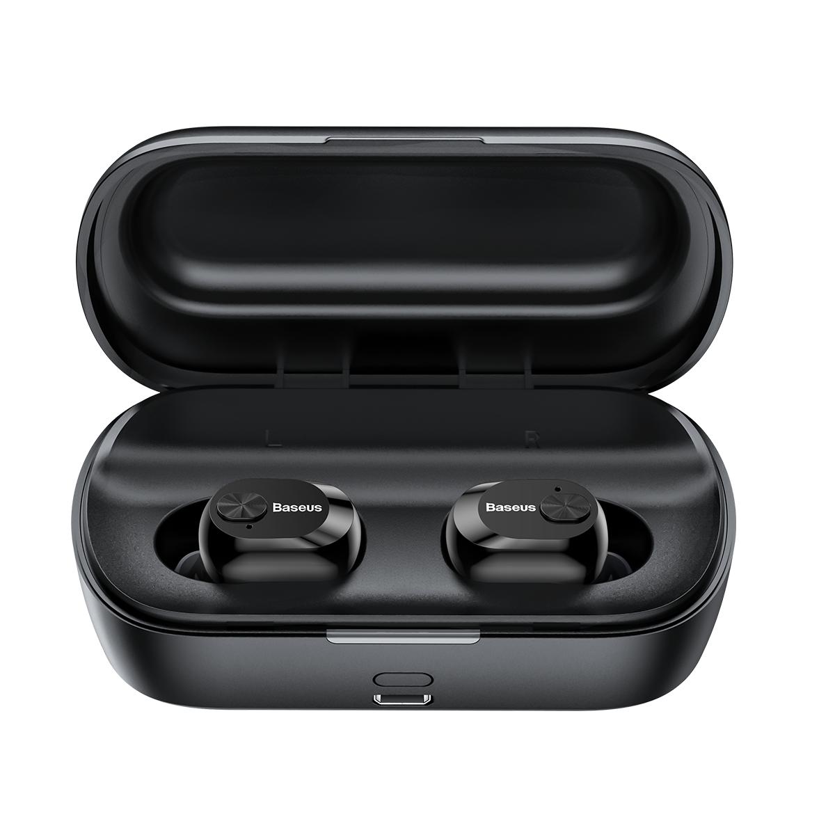 Baseus Encok W01 TWS беспроводные Bluetooth наушники - Черный