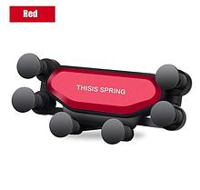 Універсальний автомобільний тримач для телефону Syrinx Колір червоний