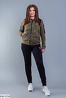 """Женский спортивный костюм больших размеров """" Nike """" Dress Code, фото 1"""