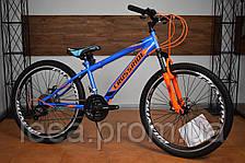 """Подростковый горный велосипед 24"""" Crossride Tiger (Ardis) скоростей 21"""", рама: 13"""", цвет в ассортименте"""