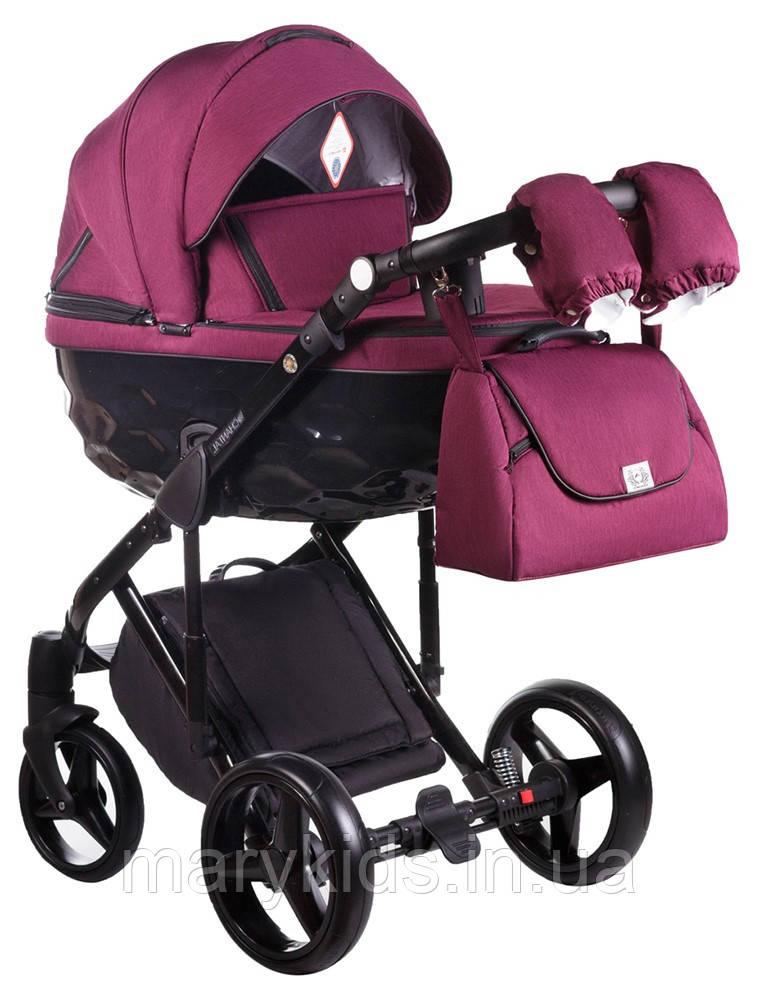 Детская универсальная коляска 2 в 1 Adamex Chantal С207