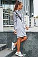 Женское спортивное платье 1216.3672 серый (S-L), фото 2