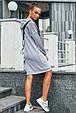 Женское спортивное платье 1216.3672 серый (S-L), фото 3