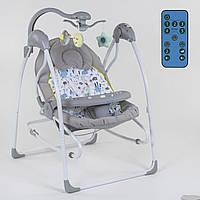 Детские электронные качели 3в1 СХ-30350 JOY (под. МЕ 1028-) качели, шезлонг, карусель