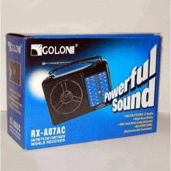 Радио GOLONE RX-A07AC