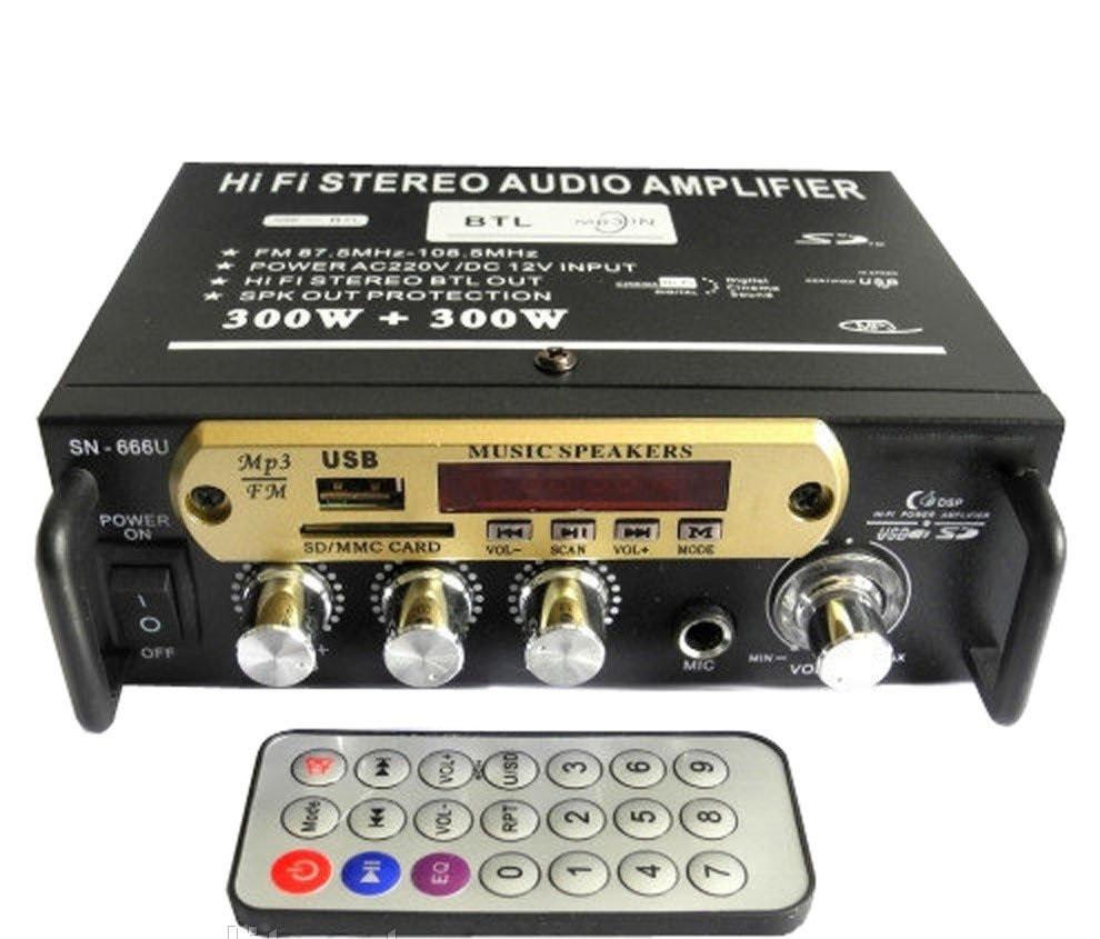 Усилитель звука AMP 666 BT