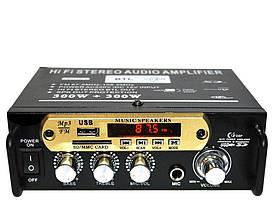 Усилитель звука AMP 666 BT, фото 3