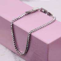 Жіночі браслет з кристалами Сваровські 17-19 см 172455, фото 1