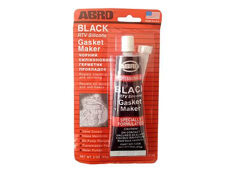 Герметик 85г черный 'ABRO', фото 2