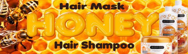 Турецкая профессиональная косметика для волос Morfose.Медовая серия