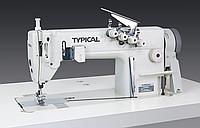 """Typical GK0056-1; 2 игольная 4 ниточная швейная машина для пошива боковых швов рубашек, джинс """"шов в замок"""""""