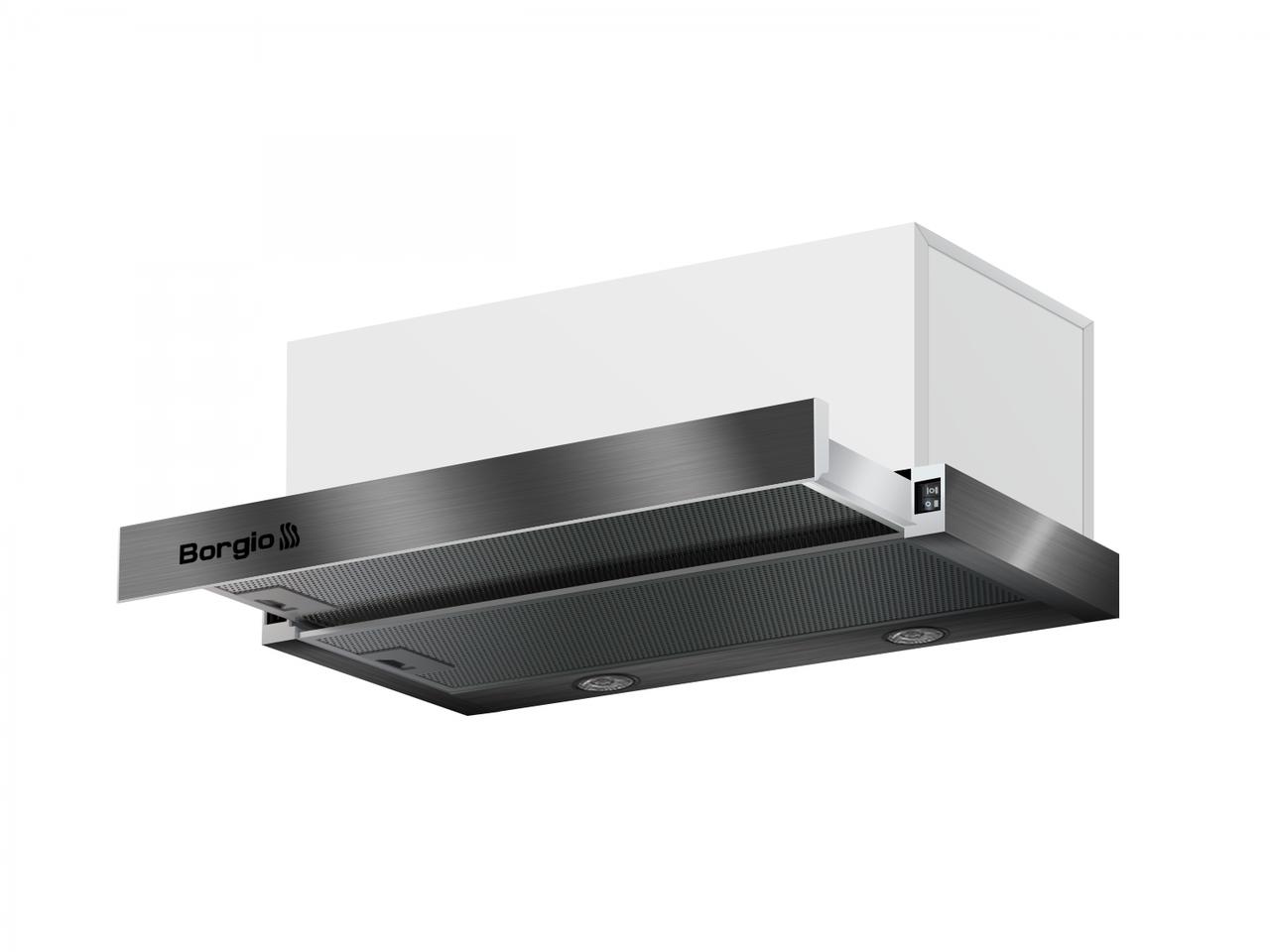 Кухонна витяжка вбудована BORGIO BLT(R) 1000 60 inox