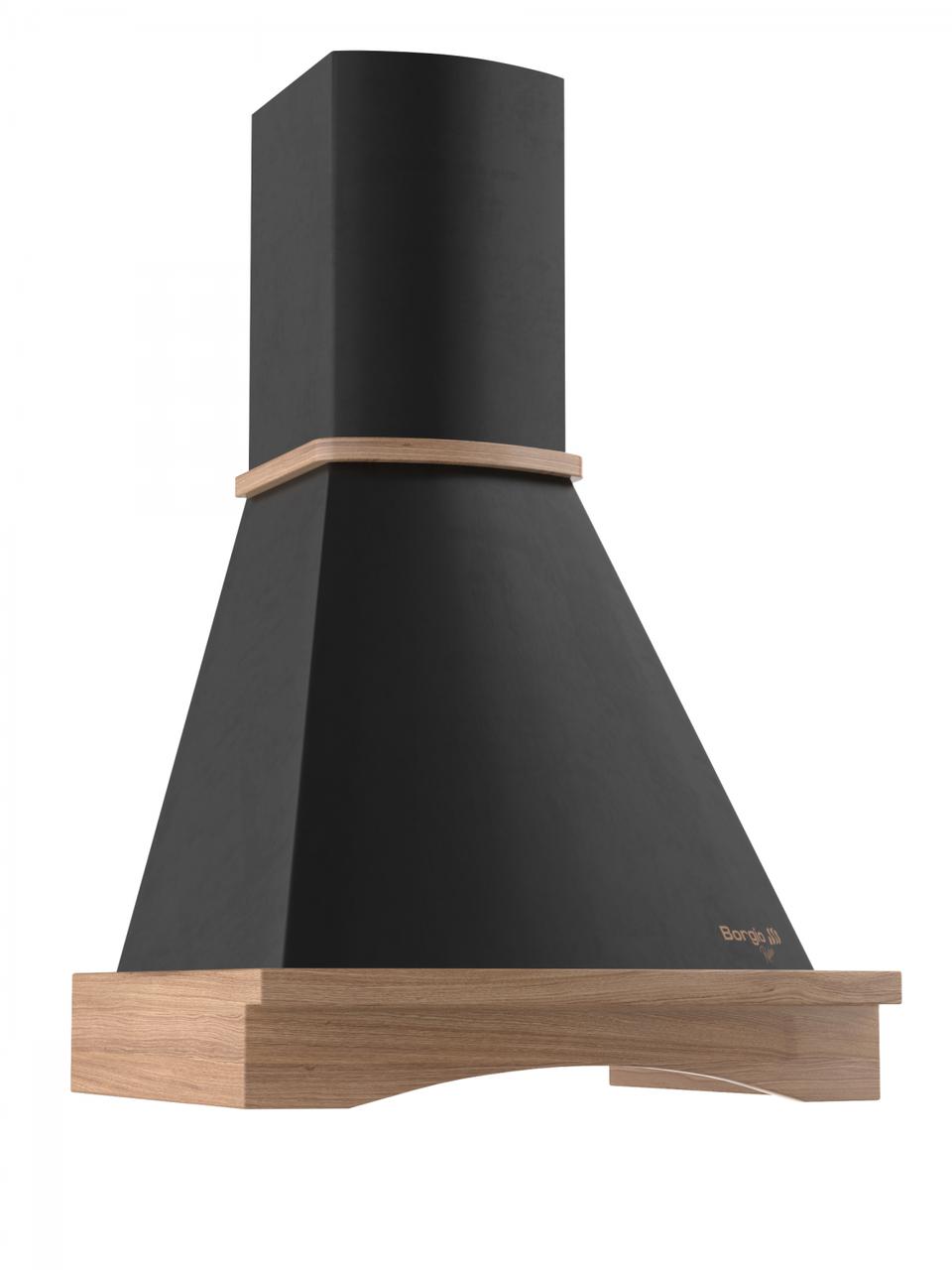 Кухонна витяжка купольна чорна BORGIO BR 90 black