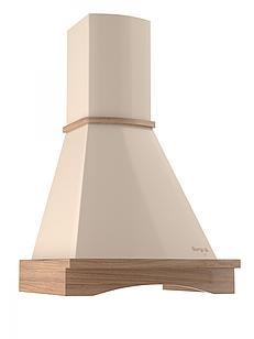 Кухонна витяжка купольна бежева BORGIO BR 90 ivory