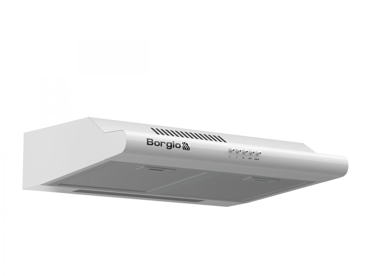 Кухонна витяжка плоска біла BORGIO Gio 60 white