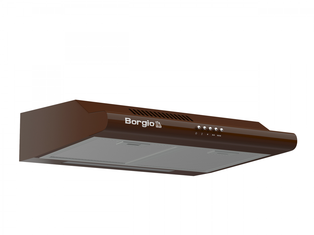 Кухонна витяжка плоска коричнева BORGIO Gio 60 brown