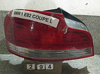 №294 Б/у фонарь задний лівий  63216924519 для BMW E82 2007-2013
