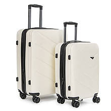Дорожный чемодан на 4 колесах 2 шт