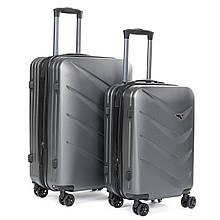 Дорожная сумка чемодан на колесах 2 шт