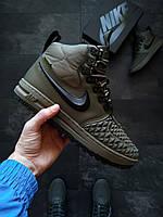 Кроссовки мужские зимние Nike LF Duckboot 17 Чоловічі кросівки зимові Топ-реплика