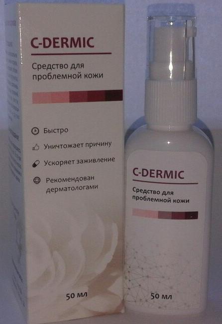 C-dermic - гель от псориаза (Це-Дермик), Рекомендован дерматологами