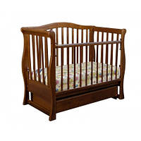 Детская кроватка «VIVA» premium орех тм Ласка