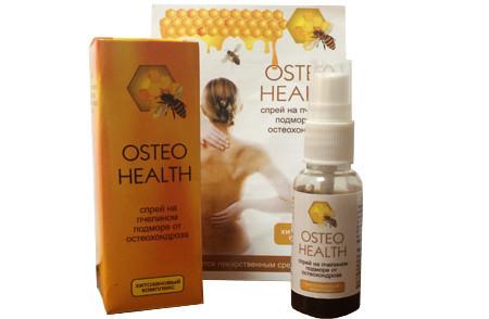Остео Health - Спрей на бджолиний підмор від остеохондрозу (Остео Хелс)