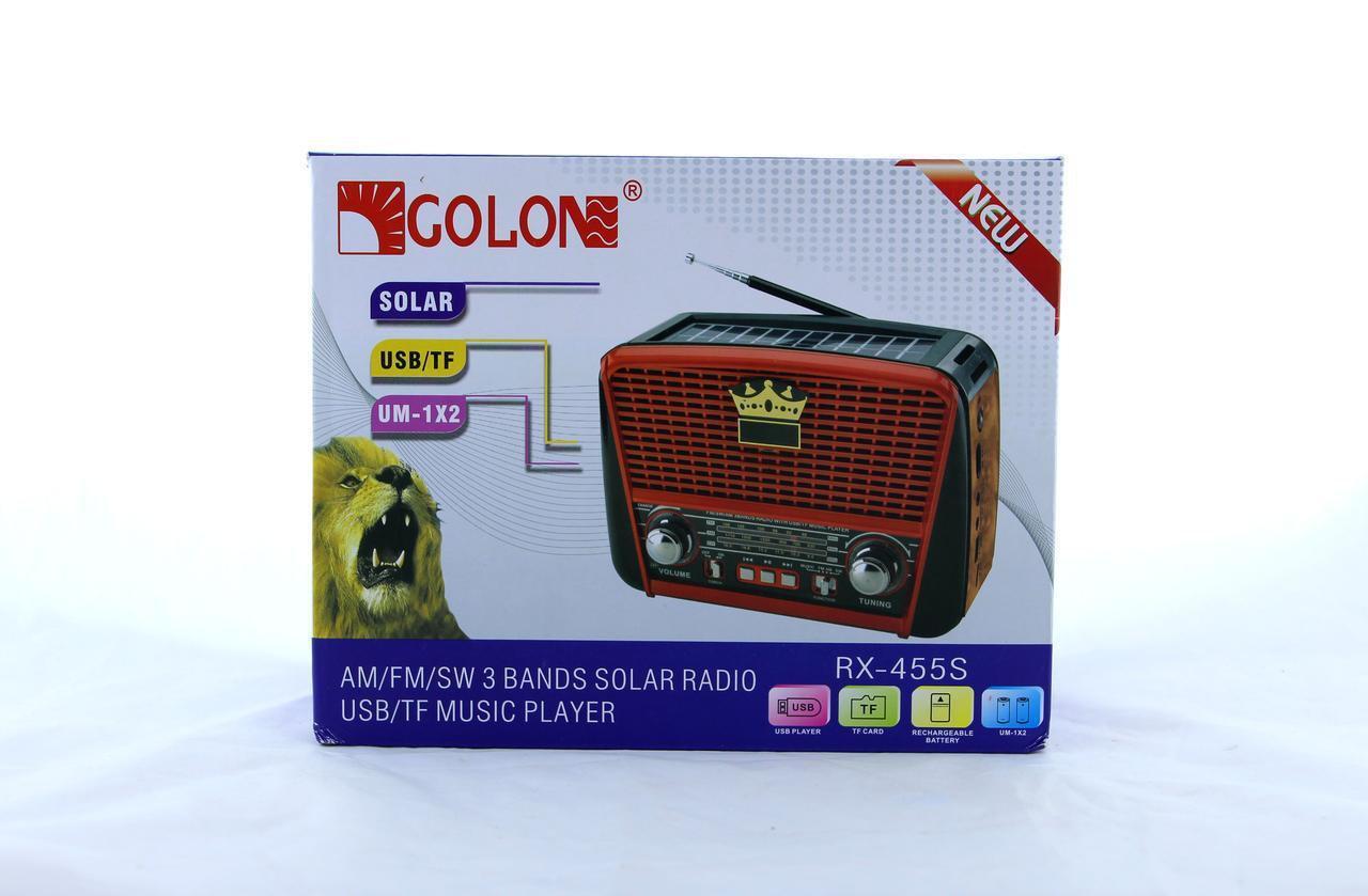 Радио GOLONE RX-455S